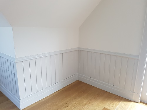skirting and chair rail