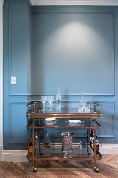 Coloured Wall Panelling