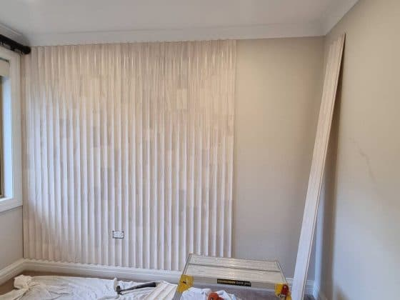 Installation Cavetto Wall